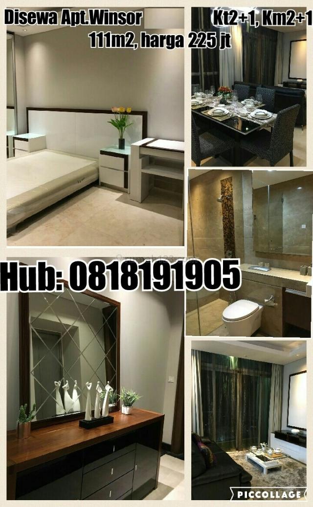Apartemen The Windsor, MURAH, BARU dan BAGUS SEKALI, Puri Indah, Jakarta Barat