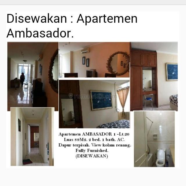 Apartemen Ambassador fully furnished, Kuningan, Jakarta Selatan