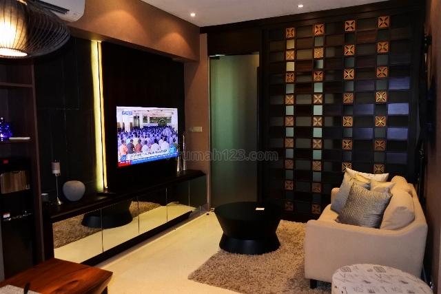 APARTEMEN RESIDENCE 8, 2 BR, Fully Furnished, Senopati, Jakarta Selatan