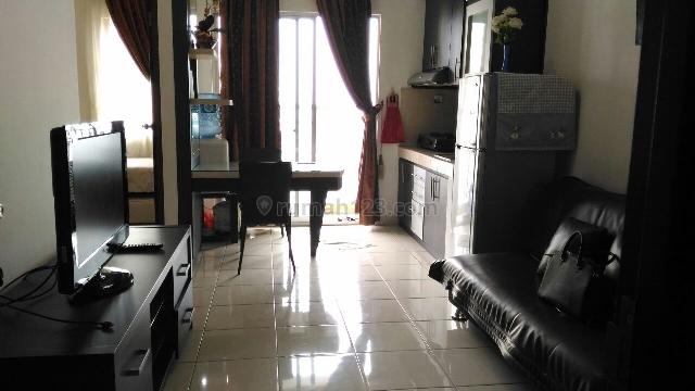 Apartemen MEDIT 2 tipe 2 Kamar, full furnish interior, view ke CP Mall, SIAP HUNI, Central Park, Jakarta Barat