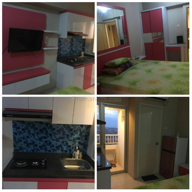 Citihome - Apartemen Educity Stanford Type 1 Br Furnish View City