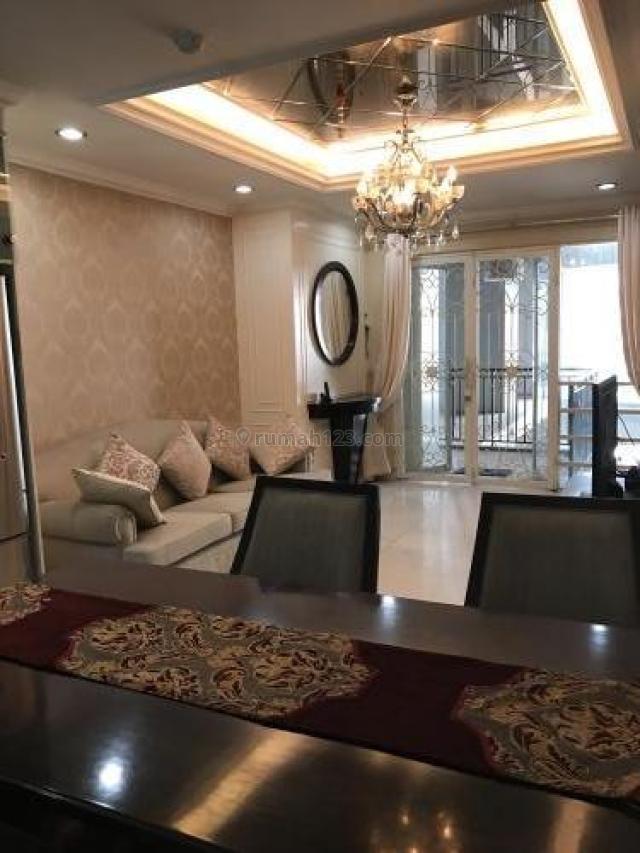 Apartemen Sahid Sudirman Residence – 3 BR 119 m2 Full Furnished, Sudirman, Jakarta Selatan