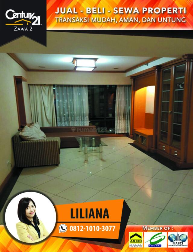 Apartemen Taman Anggrek Type 2BR Fully Furnished Siap Huni, Grogol, Jakarta Barat