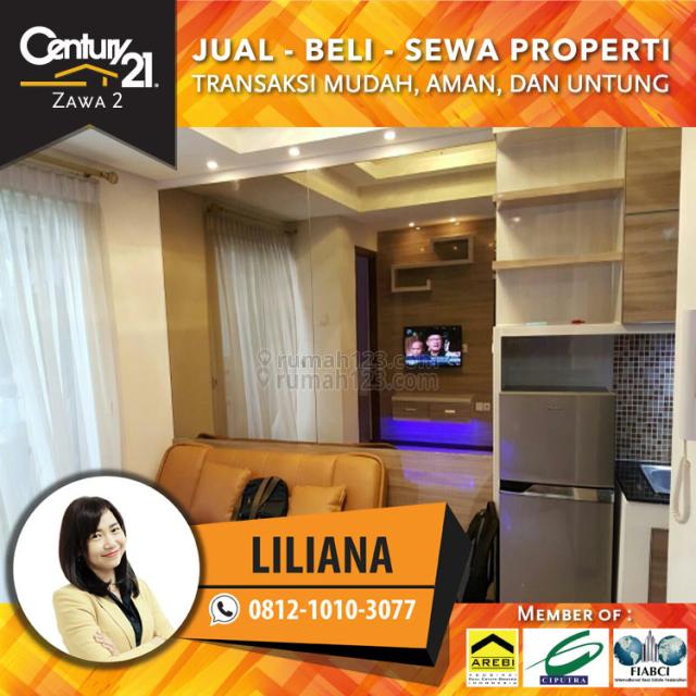 Apartemen Royal Mediterania Garden Type 1BR Fully Furnished Siap Huni, Grogol, Jakarta Barat
