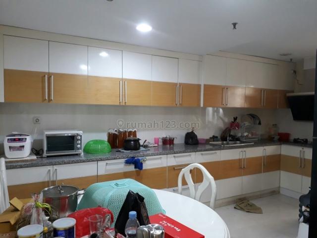 apartement pesona bahari mangga dua luas 118 m2 full furnish design interior tinggal bawa pakaian harga nego, mangga dua, jakarta barat