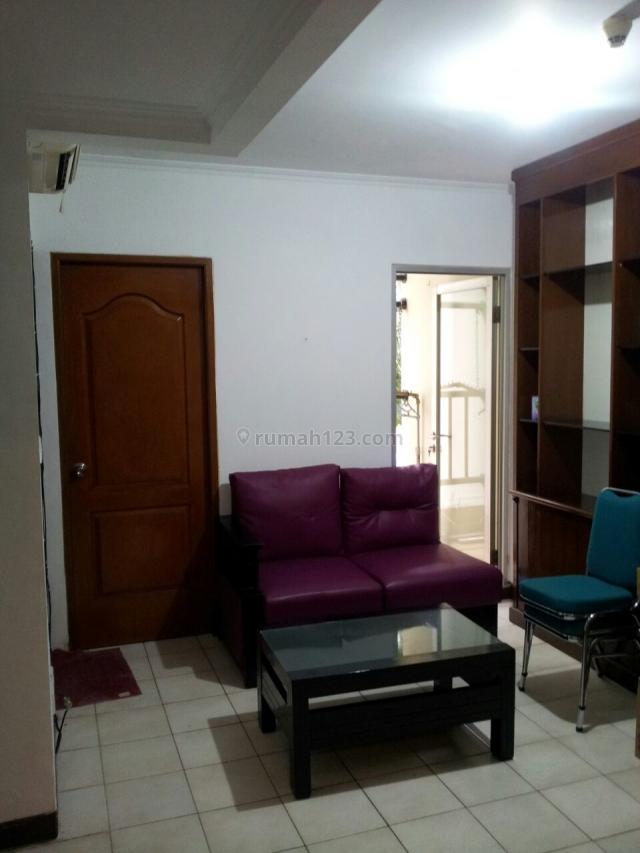 apartemen medit palace kemayoran lantai rendah lantai 2 jarang ada, kemayoran, jakarta pusat