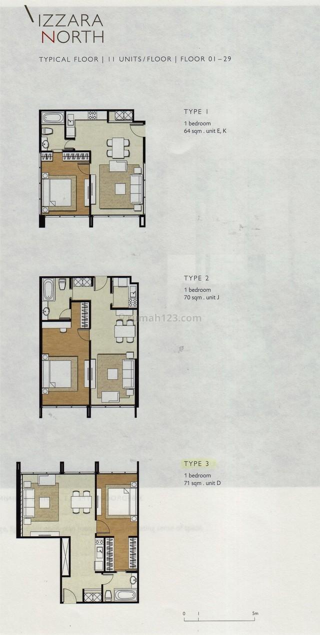 Apartemen di Simatupang... Izzara Apartemen, TB Simatupang, Jakarta Selatan
