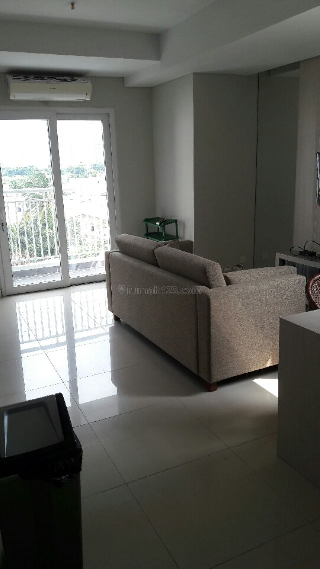 Metro Park 2bed corner 58m2 furnish lengkap unit nyaman untuk tinggal, Kedoya Selatan, Jakarta Barat