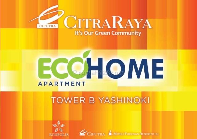 Apartement Ecohome - Apartement dengan harga murah di Kawasan Citraraya, Cikupa Citra Raya, Tangerang