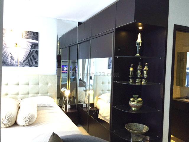 (TN) Apartement studio Brooklyn alam sutera full furnish Siap Huni, Alam Sutera, Tangerang