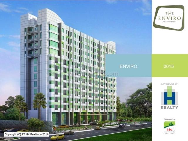 apartemen enviro cikarang 1 BR full furnished, Cikarang, Bekasi