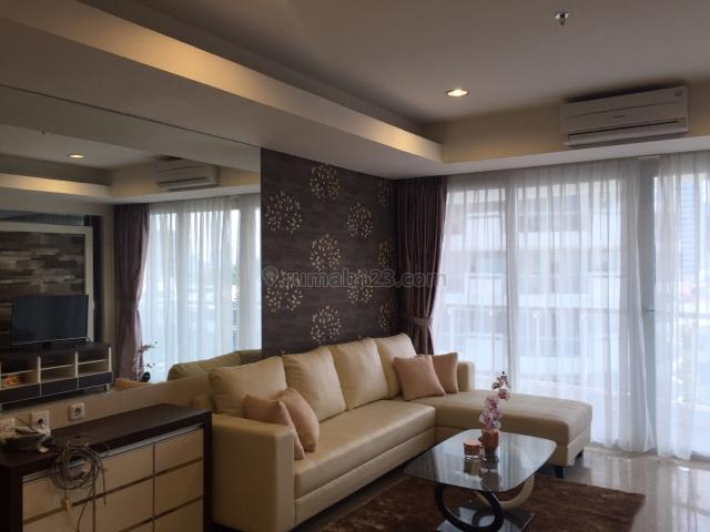 Royale SpringHill 2+1BR Furnished Luas 196m2 View Pool #VR210, Kemayoran, Jakarta Pusat