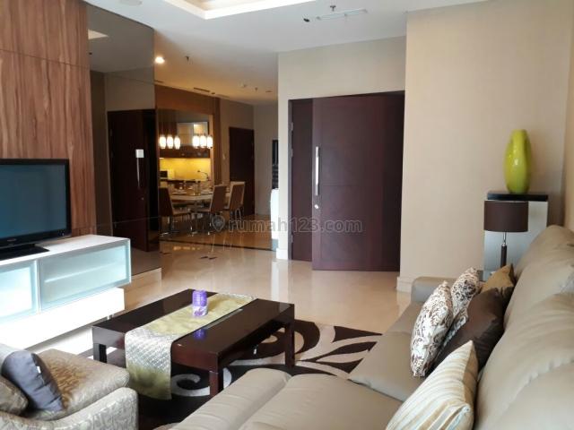 Apartemen Capital Residence 2+1BR, FF, Siap Huni dan Strategis di SCBD, CBD, Jakarta Selatan