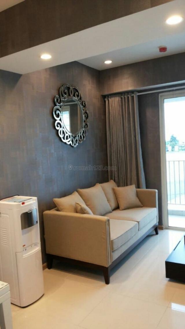 Apartemen Casa Grande 2BR Tower Montreal Lantai Rendah Full Furnished, Tebet, Jakarta Selatan