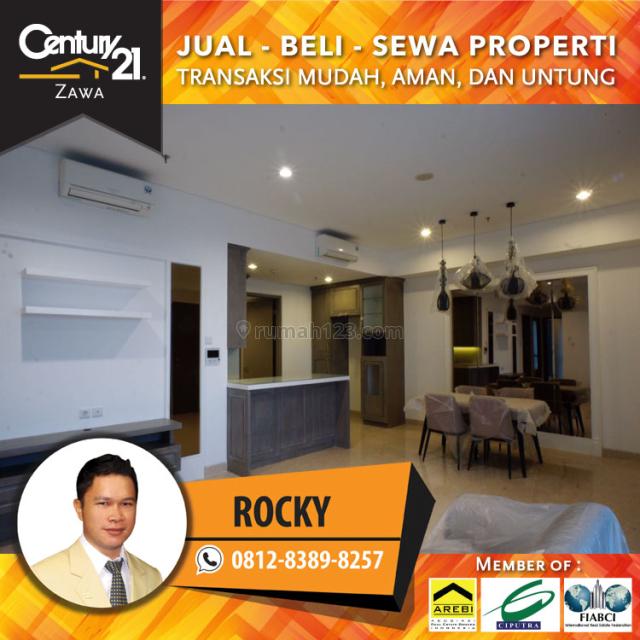 Apartemen 1Park Avenue, Lantai Sedang, 3BR+2bathrrom, Furnish, USD. 2700/Bulan, Kebayoran Lama, Jakarta Selatan