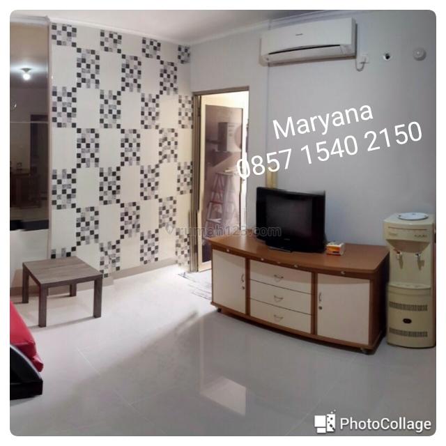 Apartemen Medit 1 di Tanjung Duren FF Tahunan 2 BR Renov, Rapih, dan Terawat, Tanjung Duren, Jakarta Barat