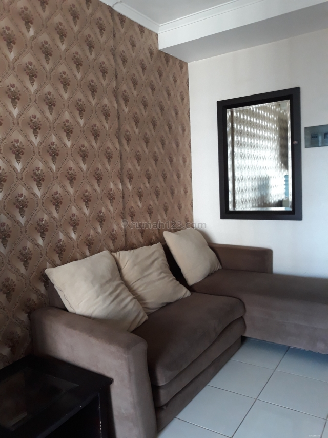 Apartemen Mediterania Garden 2 2BR Full Furnished View Pool, Tanjung Duren, Jakarta Barat