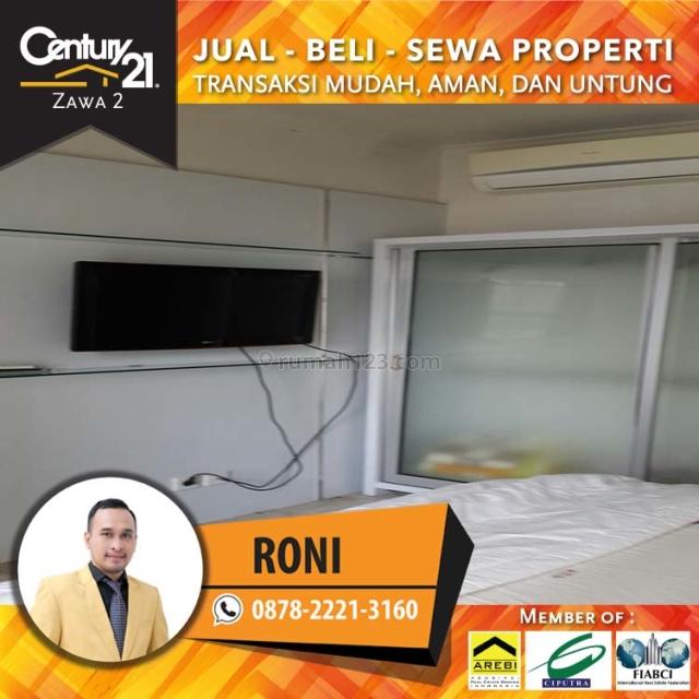 Apartment Royal Mediterania  2BR+1 Fully Furnish Luas 53Sqm Lantai Rendah, Tanjung Duren, Jakarta Barat