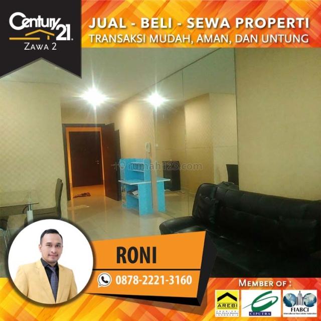 Apartment Central Park Residence 2+1BR Fully Furnish Luas 84Sqm, Tanjung Duren, Jakarta Barat