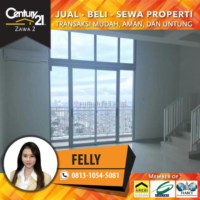 Murah Apartemen Neo Soho Luas 220.96 sqm Connecting Unit Bisa Dijadikan Tempat Tinggal & Perkantoran, Central Park, Jakarta Barat