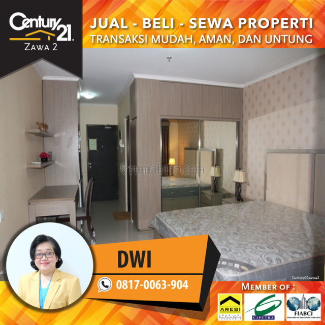 Apartemen Taman Sari - Luas 35 Sqm Type Studio Harga 7jt /Bulan, Sudirman, Jakarta Selatan