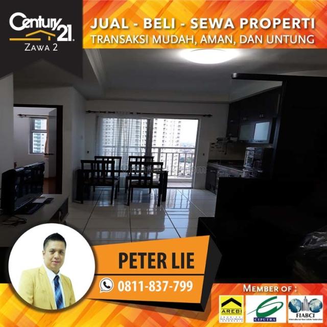 Apartemen Mediterania Garden 2--2Bedroom Fully Furnish Lantai Tengah View City, Tanjung Duren, Jakarta Barat