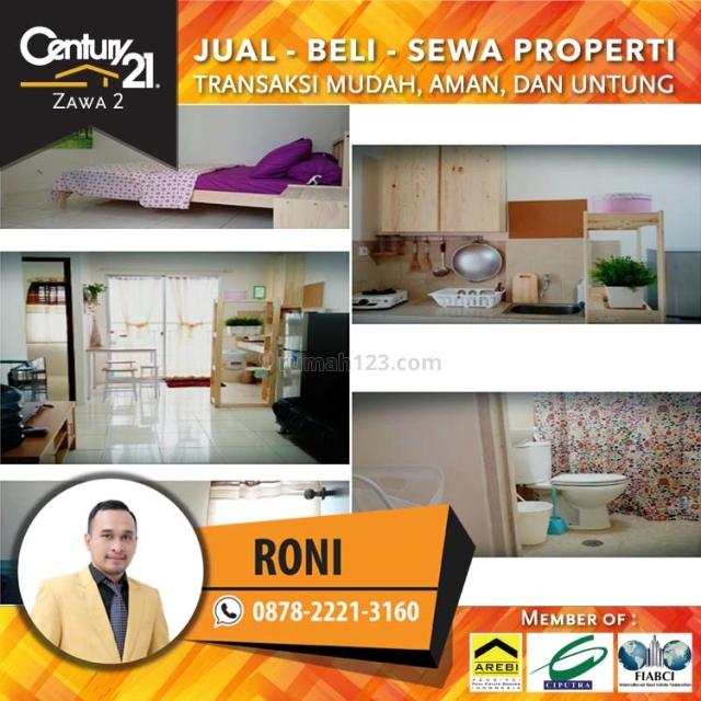 Apartemen Mediterania Garden 2 || 2Bedroom Fully Furnish Lantai Rendah View City, Tanjung Duren, Jakarta Barat