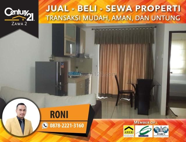 Apartemen Mediterania Garden Residence 2 || 2BR Fully Furnish Lantai Sedang View Pool, Tanjung Duren, Jakarta Barat