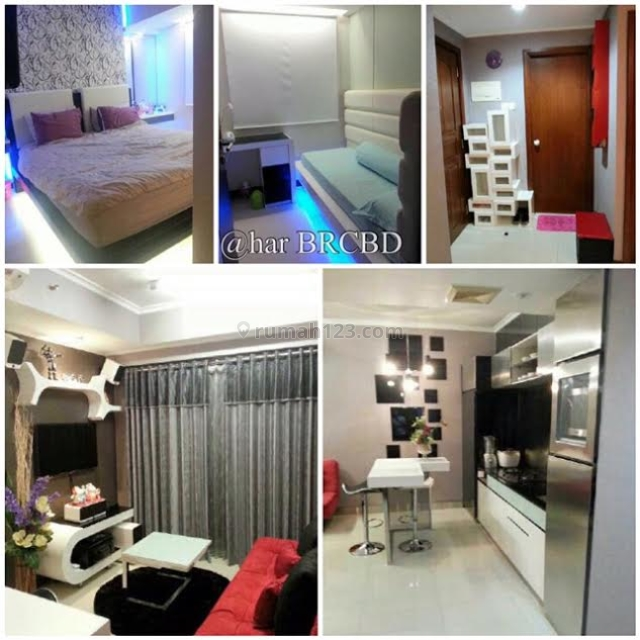 Waterplace Apartement 2 BR Full Furnished Ciamik, Dukuh Pakis, Surabaya