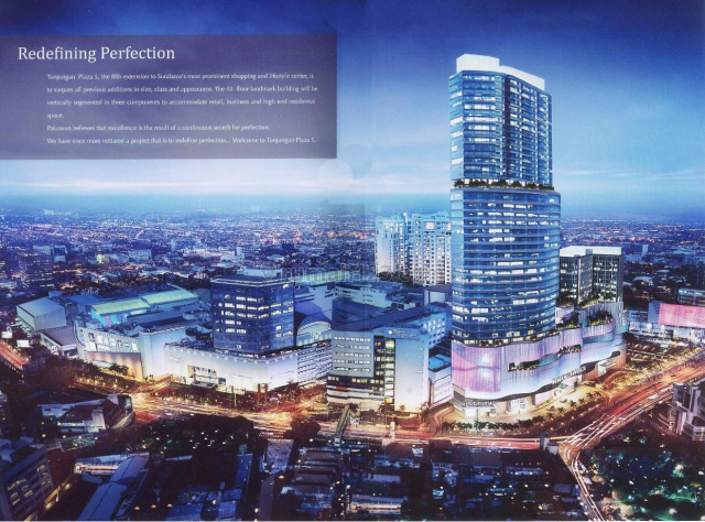 The PEAK , Luxurious Apartment with Private lift, Strategic location, Central Business District Surabaya Connect to TP5 mall and Pakuwon Centre, Sambikerep, Surabaya