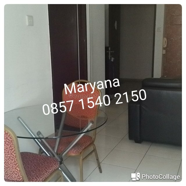 Apartemen Medit 2 Tj Duren Type 1 BR Furnish Tahunan, Tanjung Duren, Jakarta Barat