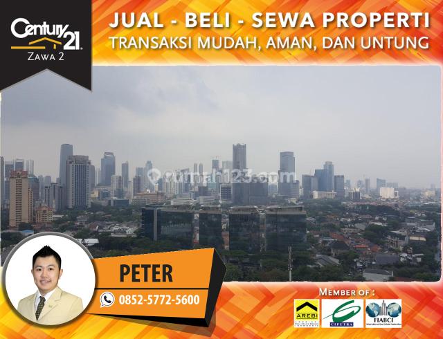 Apartment DISTRICT 8 SENOPATI - MURAH Eternity Tower 2BR FURNISHED 7,35M NEGO, Sudirman, Jakarta Selatan