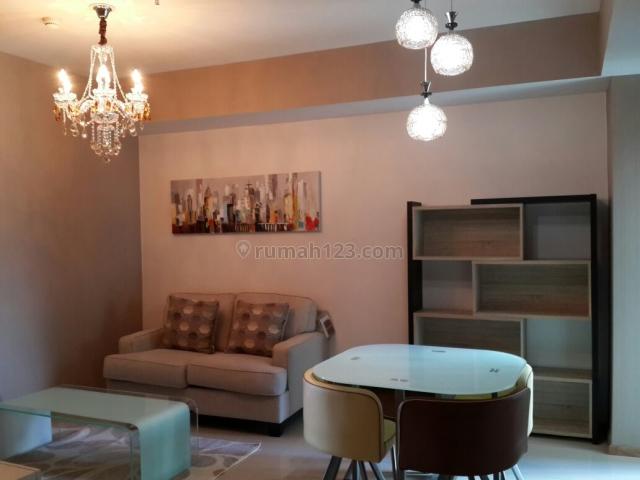 Apartemen Casagrande Tower Mirage 1 BR View Pool Full Furnished Low Floor, Tebet, Jakarta Selatan