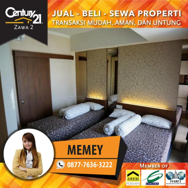 Apartemen Royal Mediterania Garden Residances 2br Luas 73m2 Full Furnished 120jt /Tahun, Tanjung Duren, Jakarta Barat