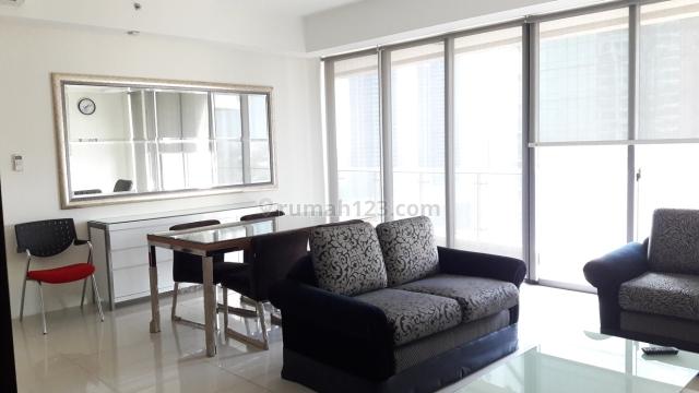 Apartemen ST Moritz Lantai Sedang 3 BR Furnished, Puri Indah, Jakarta Barat