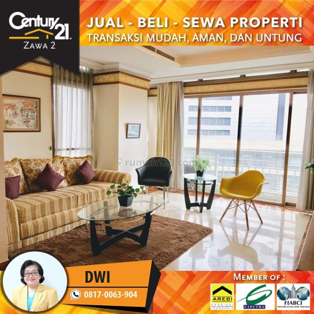 Apartemen Somerset Grand Citra  3+1 Bed Fully Furnish Low Floor, Kuningan, Jakarta Selatan