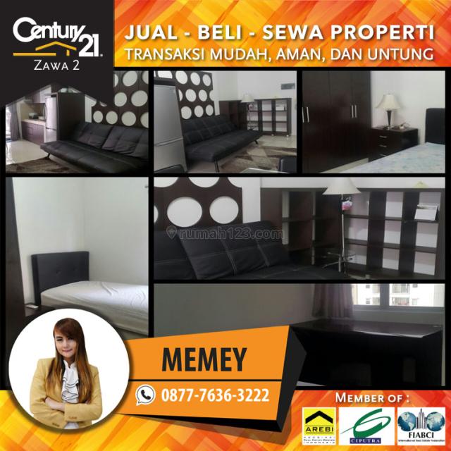 Apartemen Mediterania Garden Residence 2 - 2BR Furnished Luas 42m2 Harga 65 Juta / Tahun, Tanjung Duren, Jakarta Barat