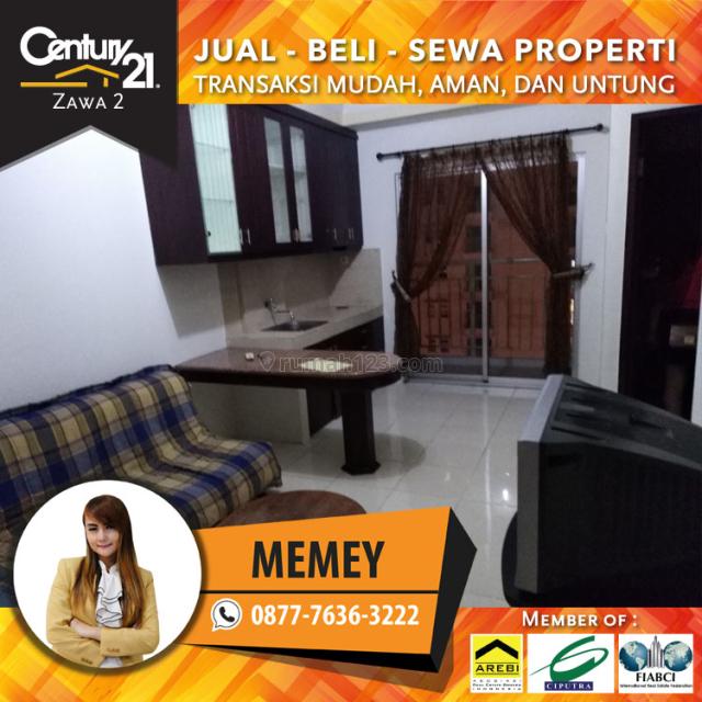 Apartemen Mediterania Garden Residence 2 - 2BR Semi Rurnished Luas 42m2 harga 47 Juta / Tahun, Tanjung Duren, Jakarta Barat