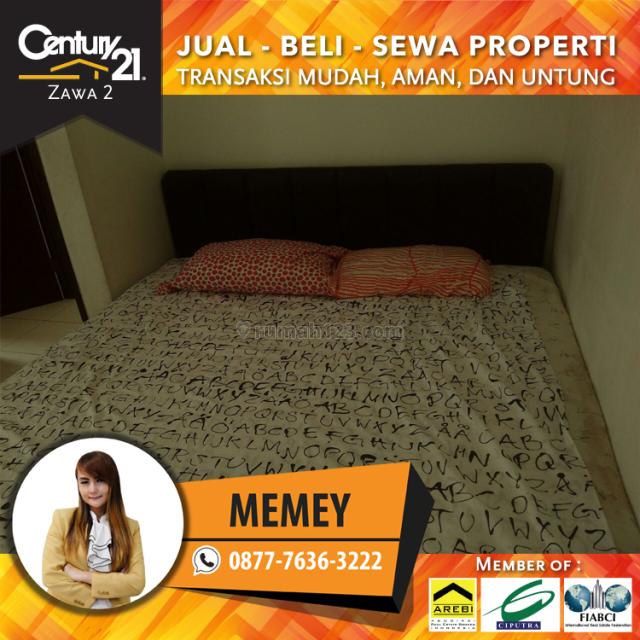 Apartemen Mediterania Garden Residence 2 - 2BR Furnihsed luas 42m2 Lsedang View City, Tanjung Duren, Jakarta Barat