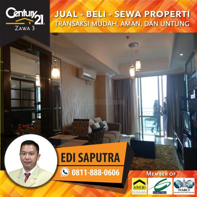 Apartemen Denpasar Residence 2BR Full Furnished Middle Floor, Setiabudi, Jakarta Selatan