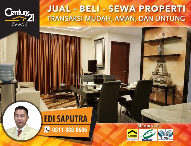 Apartemen Denpasar Residence 2BR Tower Ubud Low Floor View Pool, Setiabudi, Jakarta Selatan