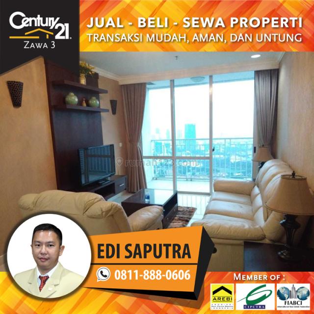 Apartemen Denpasar Residence 3BR Full Furnished Middle Floor, Setiabudi, Jakarta Selatan
