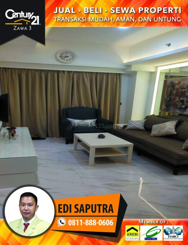 Apartemen Ambassade Residence Kuningan 1BR Nice Interior, Setiabudi, Jakarta Selatan