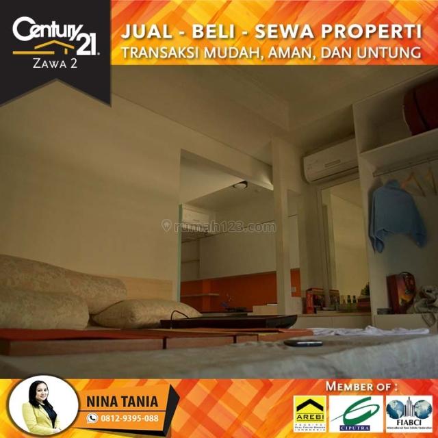 Apartemen Royal Mediterania 1Bedroom Fully Furnish Lantai Tengah View City , Central Park, Jakarta Barat, Tanjung Duren, Jakarta Barat