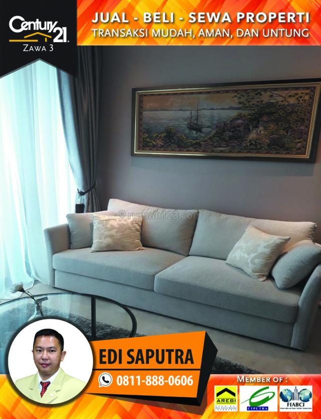 Apartemen District 8 Senopati 1BR Full Furnished Middle Floor View Timur, Senopati, Jakarta Selatan