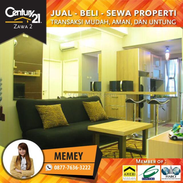 Apartemen Season City 2BR Full Furnished L.rendah Luas 55m2 View Kolam Harga 67 Juta Pertahun, Jembatan Besi, Jakarta Barat