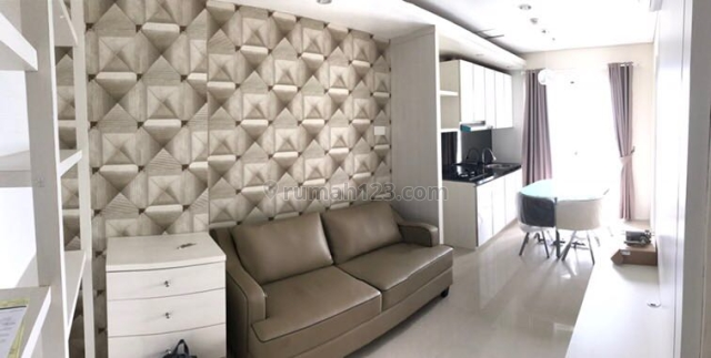 Madison Park 2 Kamar 2Bedroom 49,33m2 Full Furnish Simple Lengkap Nego, Tanjung Duren Selatan, Jakarta Barat