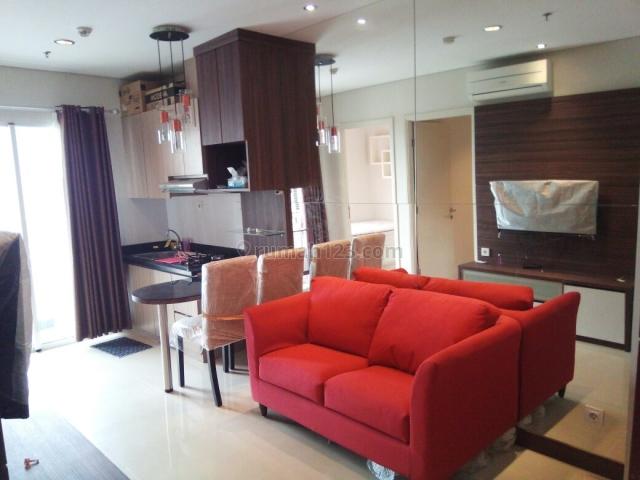 Madison Park per 1 Bulan 2 Bedroom Fully Furnish 49,33m2 Lantai Rendah, Tanjung Duren Selatan, Jakarta Barat