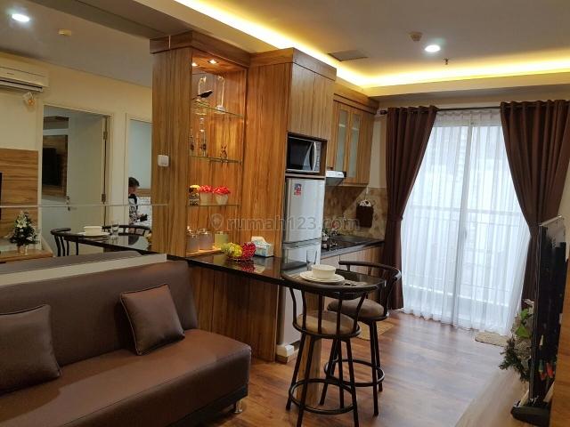 Madison Park 2 Kamar 2 Bedroom Full Furnish Mewah Lengkap Luas 49,33m2, Tanjung Duren Selatan, Jakarta Barat