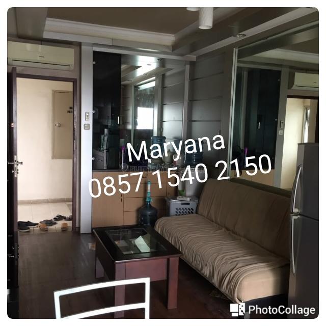 Apartemen Medit 2 di Tj Duren 2 BR Furnish apik Tahunan, Tanjung Duren, Jakarta Barat